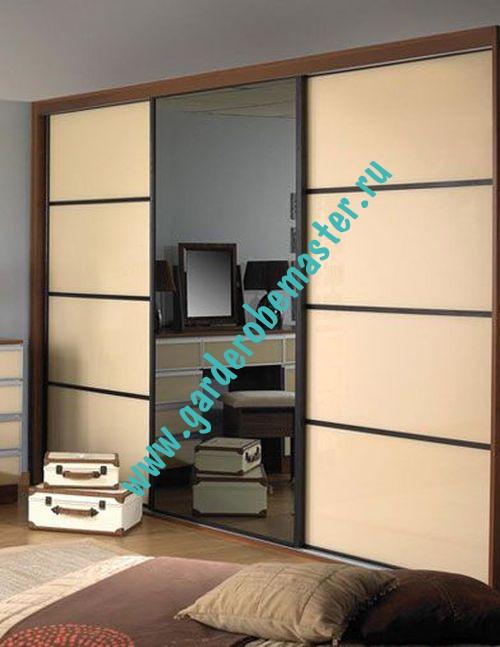 Шкафу купе 4 двери дизайн