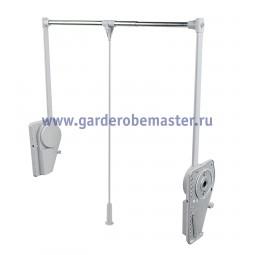 пантограф мебельный СуперЛифт 151/A для одежды в шкаф цвет серый; Производитель: Ambos SRL ИТАЛИЯ