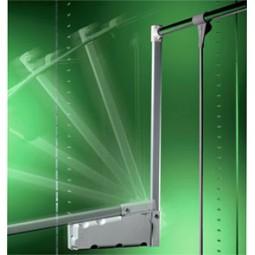 пантограф мебельный Лифт 300 для одежды в шкаф проем 75-115см вес до 10кг цвет серый; Производитель: Ambos SRL ИТАЛИЯ
