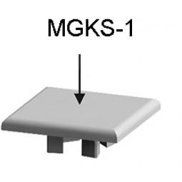 Заглушка профиля для гардеробных систем MGKS1