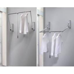 пантограф мебельный Лифт 800 для одежды на стену цвет серый; Производитель: Ambos SRL ИТАЛИЯ