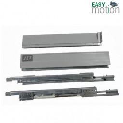 Двустенный металлический ящик JET H86мм L500мм серый