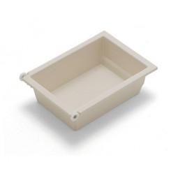 Пластиковый ящик Combi-275 в 350модуль цвет: белый