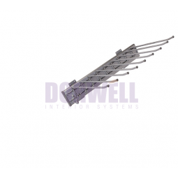 Dorwell Universale вешалка для брюк  выкатная, левое крепление,  ш-330 x г-467 x в-100мм