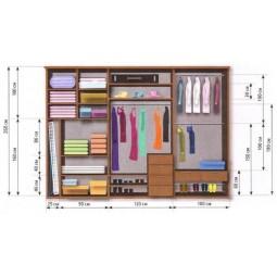 Внутреннее наполнение для шкафов и гардеробных комнат