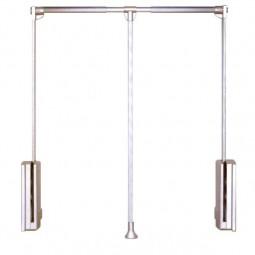 пантограф мебельный Лифт для одежды 113 телескопический L60-83см