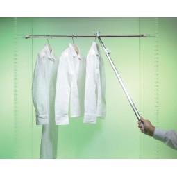 Съемник для одежды телескопический 132 цвет серый ; Производитель: Ambos SRL ИТАЛИЯ