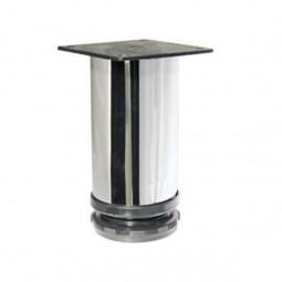 Опора 220 регулируемая H120мм сталь хром