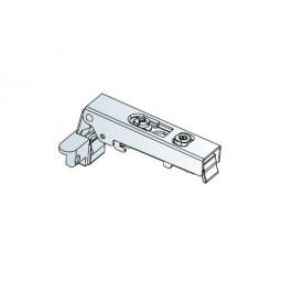 Петля накладная клип угол110 для алюминиевых рамок на зажимах