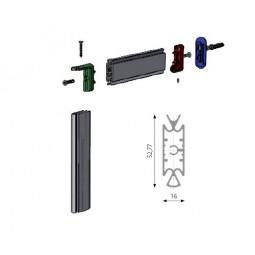 Slim 3520 алюминиевая стойка H=3000мм *цвет-алюминий