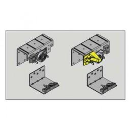 Комплект роликов для внешней двери, левой (2верх,2ниж) SM33 Meizon