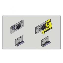 Комплект роликов для внутренней двери, левой (2верх,2ниж) SM15 Meizon