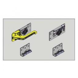 Комплект роликов для внутренней двери, правой (2верх,2ниж) DM15 Meizon