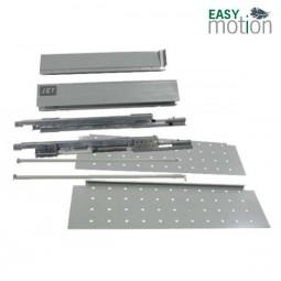 Двустенный металлический ящик 215 H190мм L500мм серый